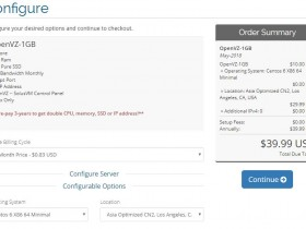 VPS主机商hiformance正式接入CN2,OVZ年付$39.99起,已经跑路