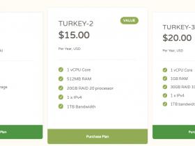 CloudCone黑五促销,$10.89起步