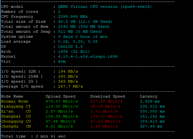 Bandwagon(搬瓦工)上架2G内存的CN2 GT VPS,史上最具性价比!